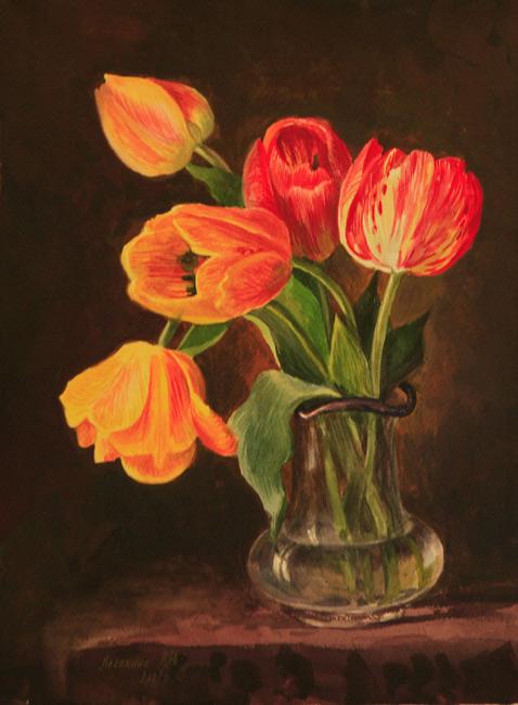 Тюльпаны 2007