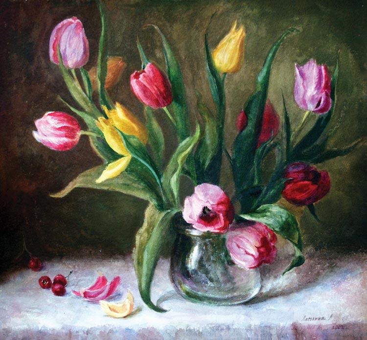 Тюльпаны к 20 летию 2007