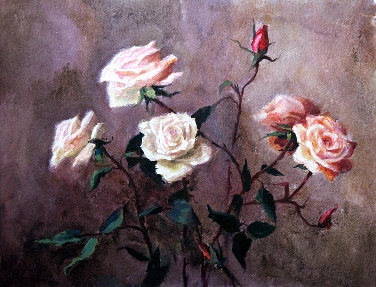 Розы из сада