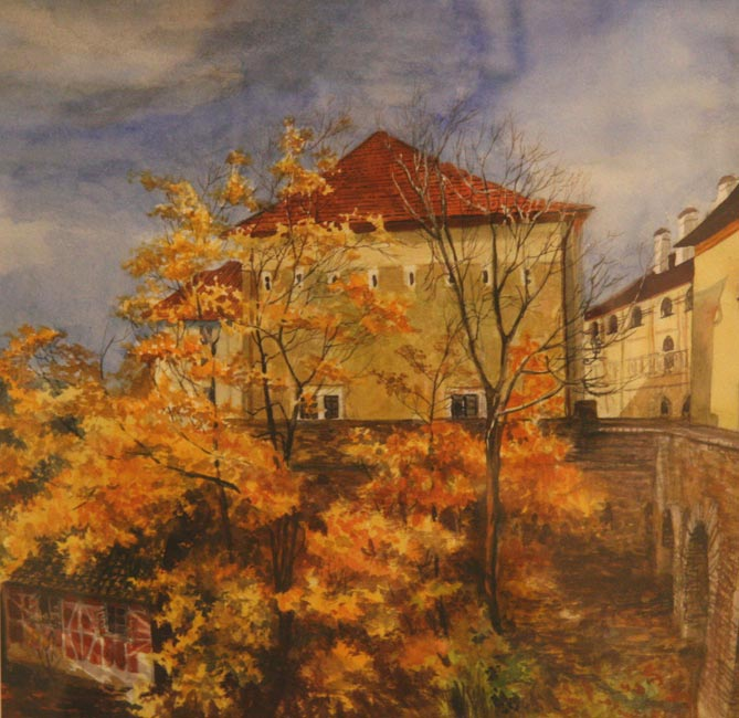 Поёт душа, танцует Осень...Чешская осень.